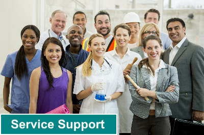 Service Support : solution de ServiceDesk